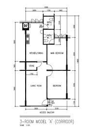 Hdb 3a Living Room Google Search Floor Plans Utility Rooms House Plans