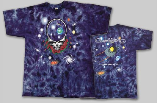 cfcc97bb Space T Shirts Ideas #spaceshirts #spacetshirts 3XL Grateful Dead Space  Your Face tie dye shirt GARCIA WEIR LESH - 2 sided - $34.50 End Date:  Tuesday ...
