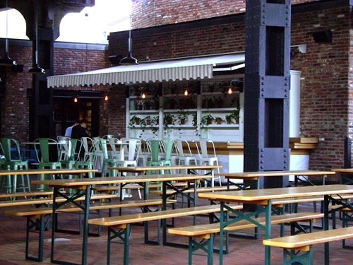 Captivating Beer Garden: The Standard Grill U0026 Biergarten In Chelsea, NYC #BeerGarden # Tables