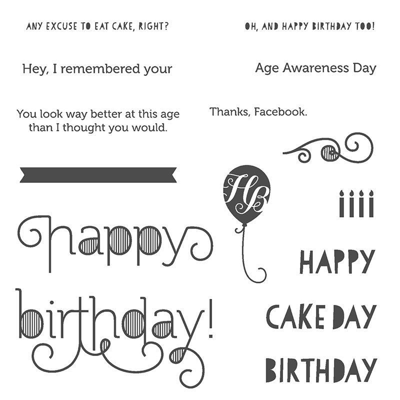 A Belated Birthday Card Using A Belated Birthday Sketch Stamp Set Belated Birthday Card Stamp