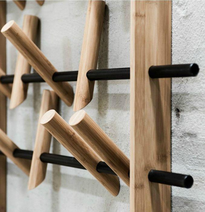 porte manteau jolie astuce industrial design pinterest porte manteaux manteau et astuces. Black Bedroom Furniture Sets. Home Design Ideas