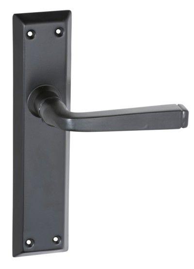 $60 - Matt Black Iron Menton Range Passage Door Handle (Pair ...
