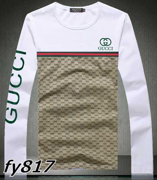 gucci long sleeve t shirts men gg8512f son pinterest gucci and men 39 s fashion. Black Bedroom Furniture Sets. Home Design Ideas