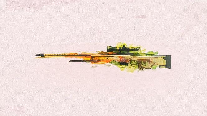 Sniper Tüfeği Tabanca Cs Go Arka Plan Duvar Kağıtları Go