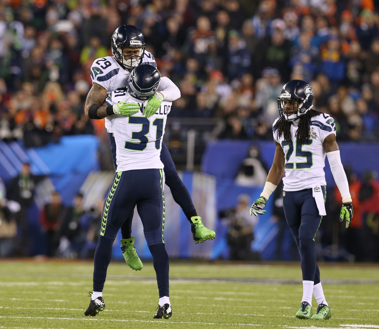 Seattle Seahawks strong safety Kam Chancellor (31