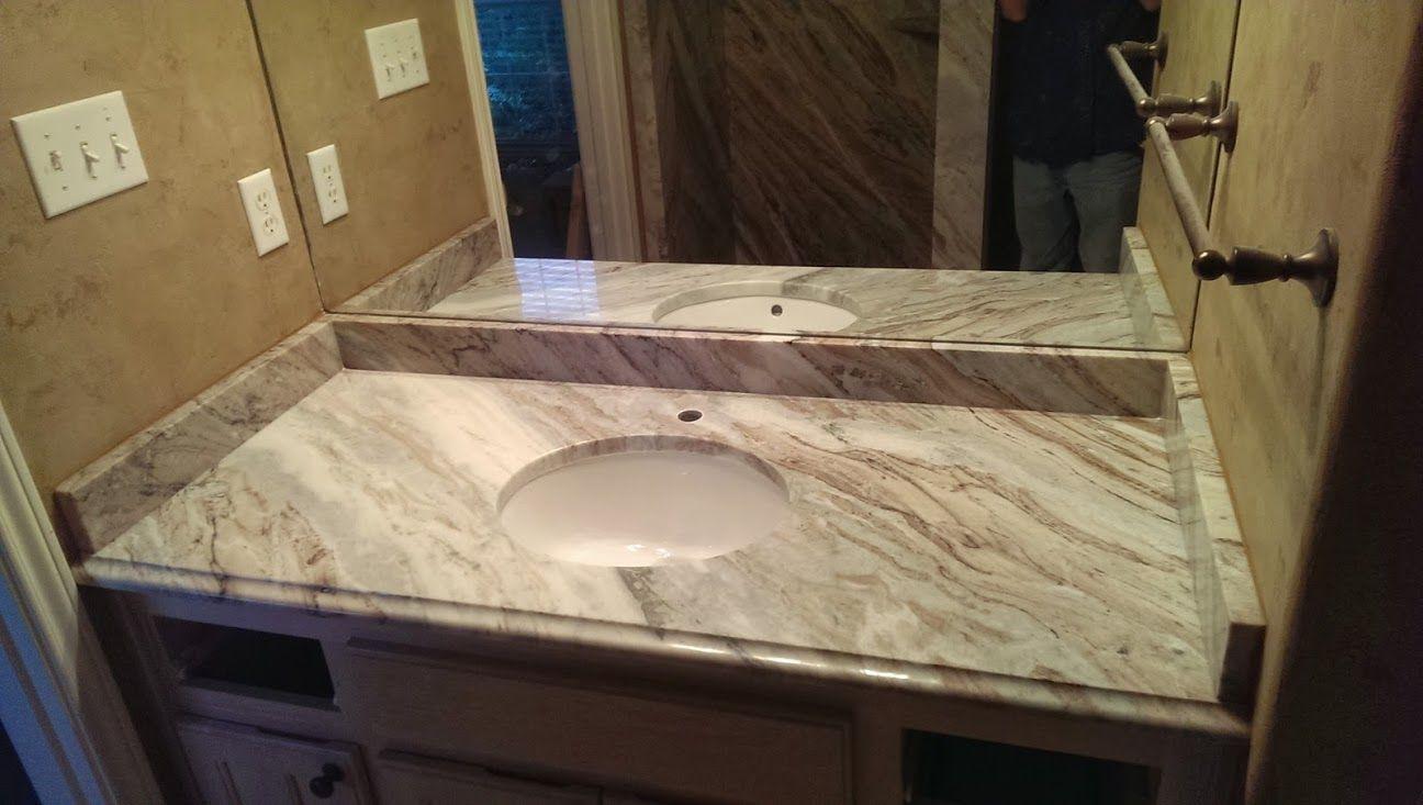 Fantasy Brown Granite Bathroom Counter Tops Dream House