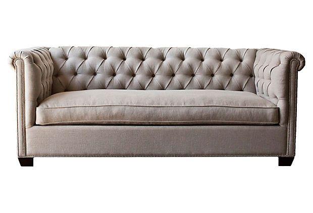 Esquire Chesterfield Sofa On OneKingsLane.com. The Sofa Of My Dreams.