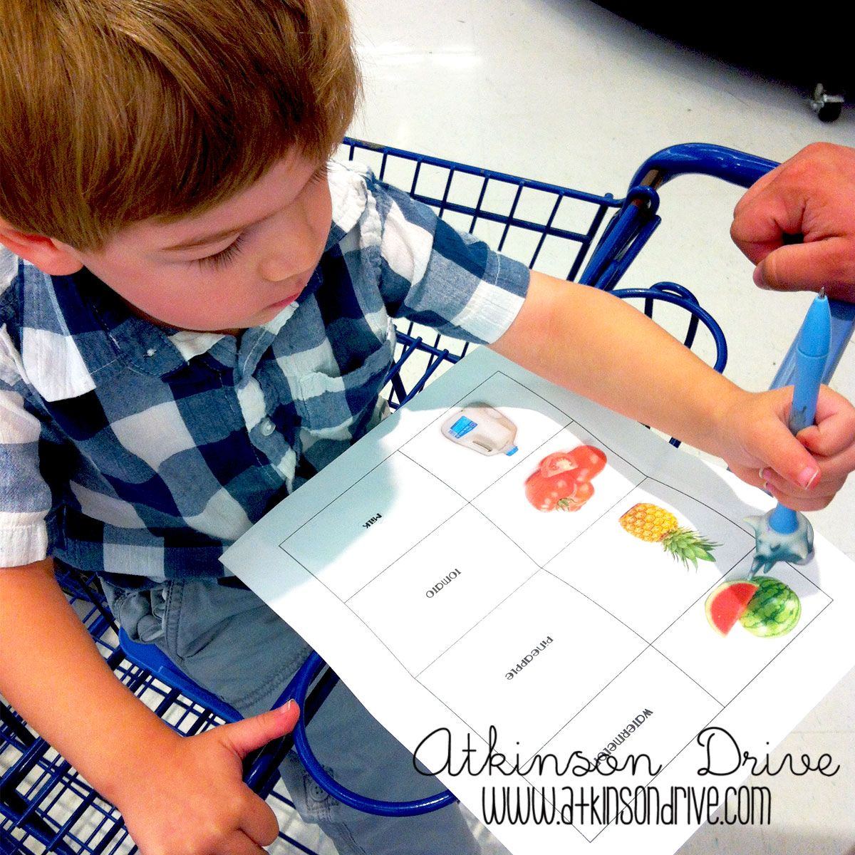 Printable Toddler Shopping List