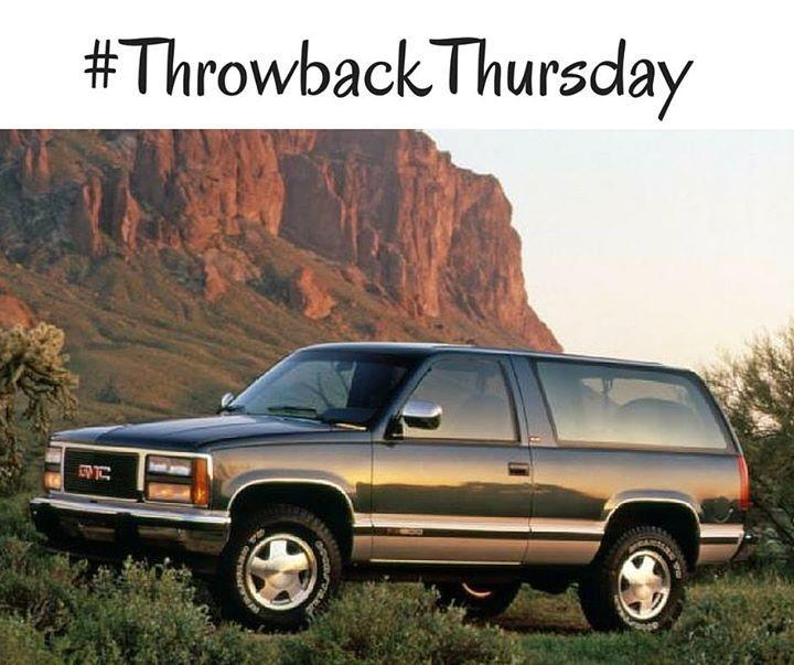 The Gmc Yukon Has Come A Long Way Since 1980 Tbt Buick Gmc Lake Charles Gmc