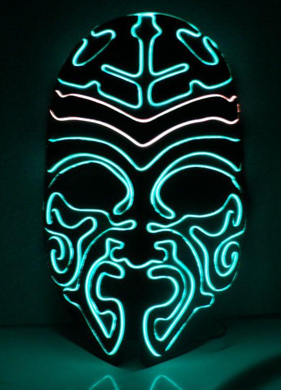 Samurai El Wire Mask by ELWire4U on Etsy, $65.00 | JWR Designs ...