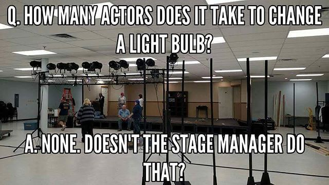 It's that time again, you guys. #theater #theaterproblems #actorproblems #theaterislife