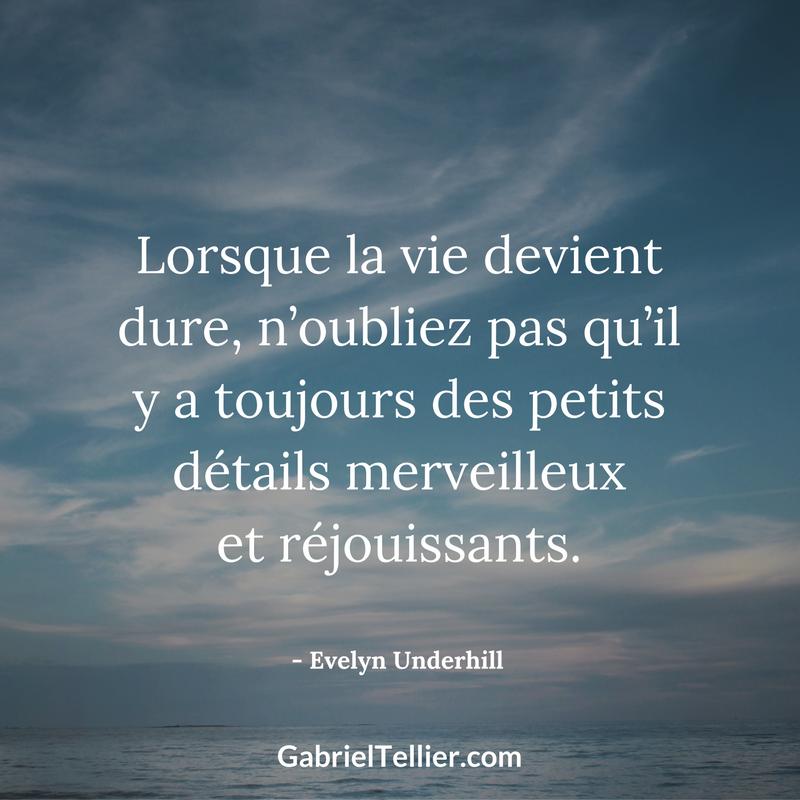 Gabriel Tellier Expert En Developpement Personnel Citations Joie Citation Joie De Vivre Citation