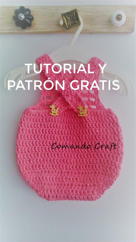 patron gratis body crochet – Comando Craft | monos de bebes en 2018 ...