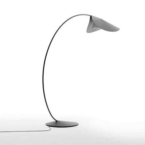 Elegant Floor Lamps - casual contemporary Circle lamp by De Padova ...