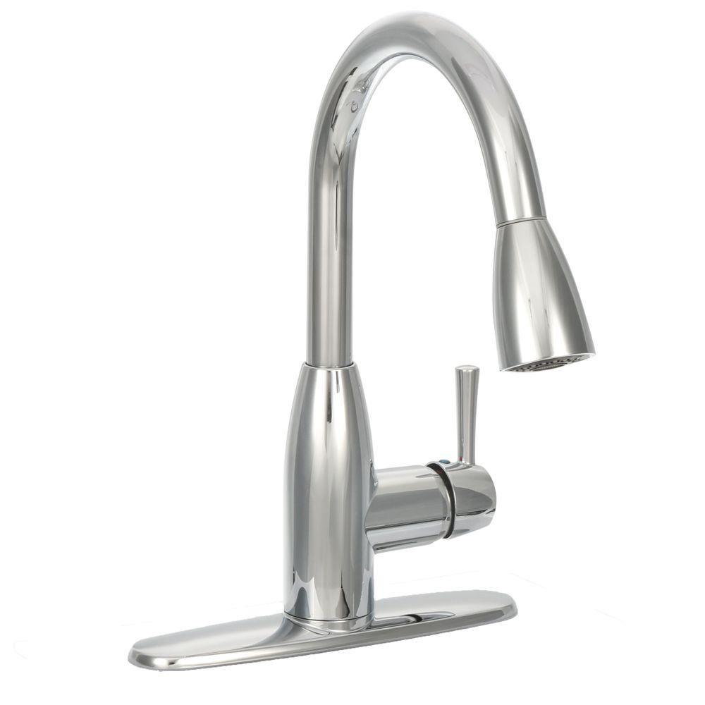 American Standard Fairbury Single Handle Pull Down Sprayer Kitchen Faucet In Polished Chrome 4005f With Images Kitchen Faucet Chrome Kitchen Faucet Kitchen Faucet Repair