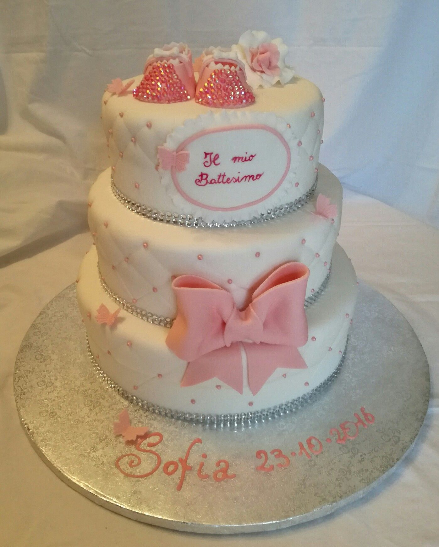 Popolare Torta battesimo bimba | Torte per battesimo, Torte, Battesimo IJ75