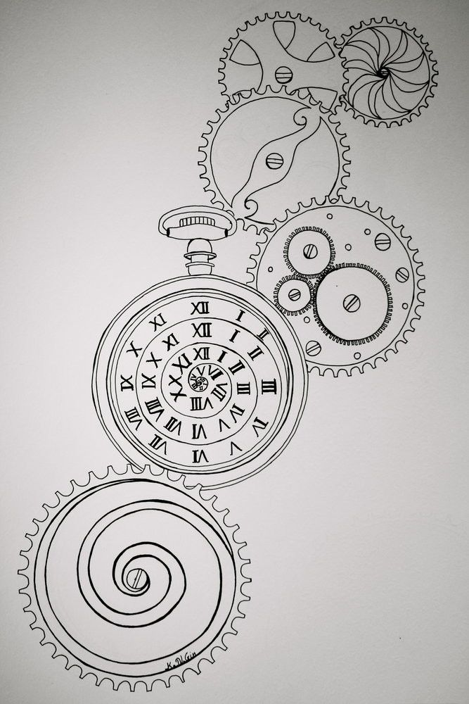 Clockwork Tattoos Google Search Clockwork Tattoo Steampunk Art Doodle Drawings