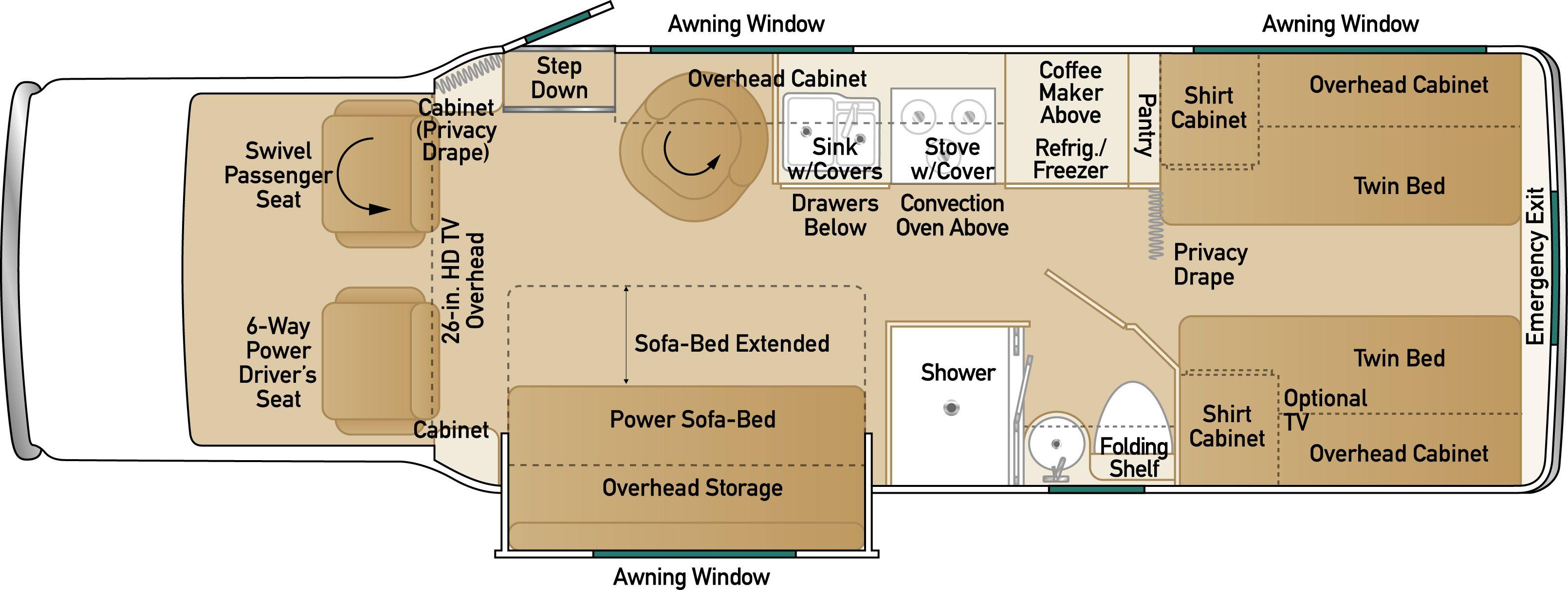 Kodiak Travel Trailer Floor Plans Photo Dutchmen Aerolite Floor Plans Images Puma Floor