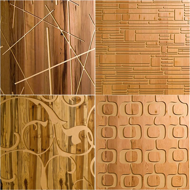 Revestimiento para Paredes Interiores en Madera | Wall décor ...