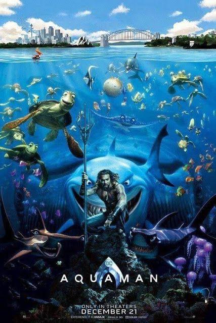 0e42b7543d208 Gag and Memes: Finding Aquaman Poster   DC Comics   Aquaman, Comic ...