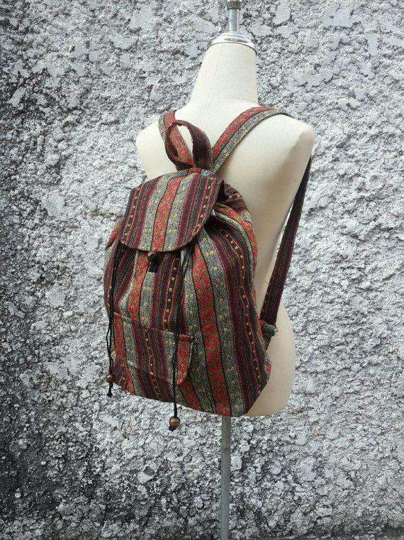 Big Boho Tribal Backpack Bags Diaper Aztec Ethnic Hippies Ethnic ... 7fe6e1d8f5