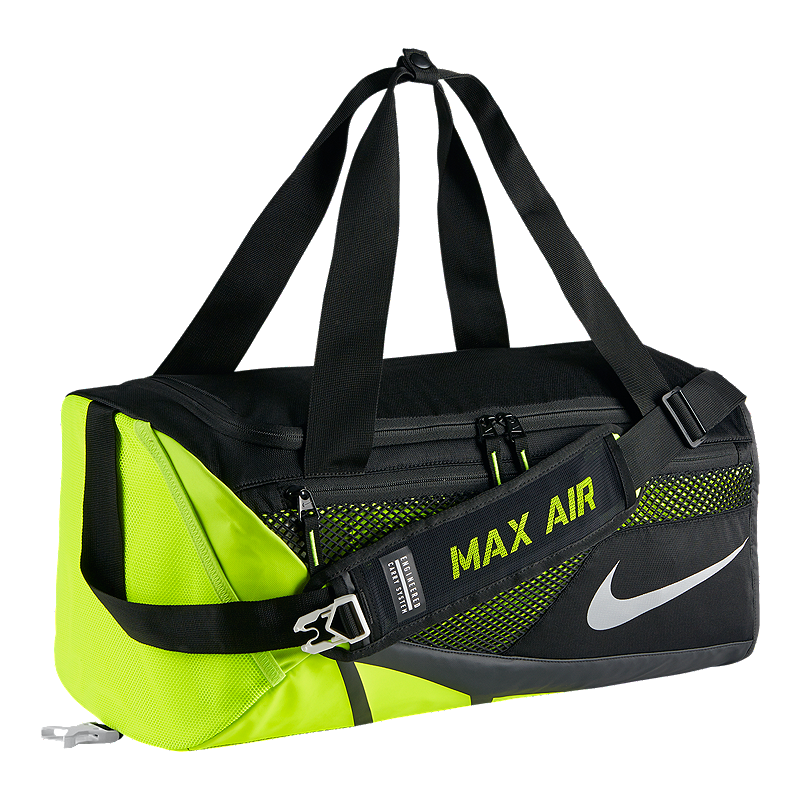 Men's Nike Vapor Max Air 2.0 (Small) Duffel Bag features a dense polyester  shell