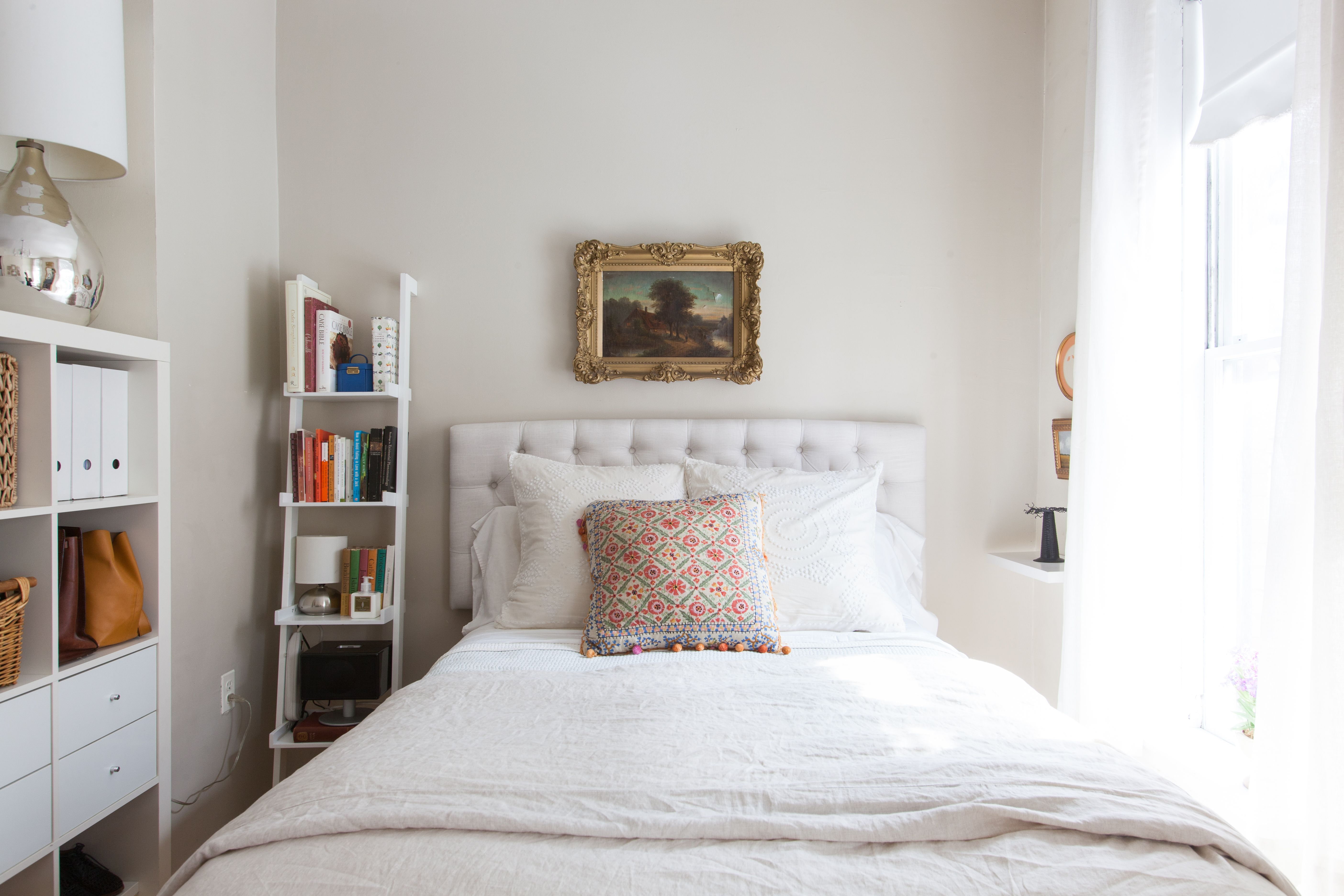 Small Bedroom Ideas: 7 Smart Ways To Get More Storage In Your Sleep Space | Small Bedroom Storage, Small Room Design, Small Bedroom