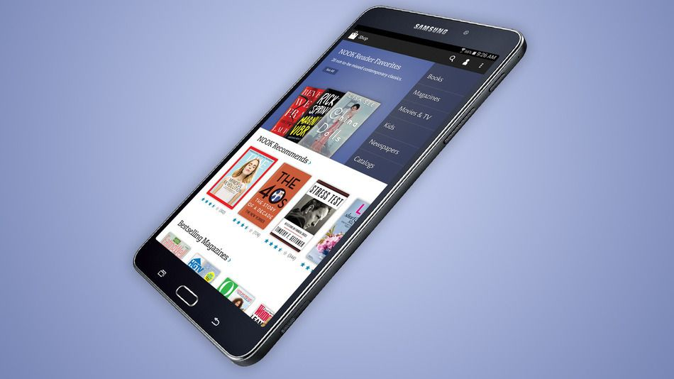 The Next Barnes Noble Nook Will Be A Samsung Galaxy Tab