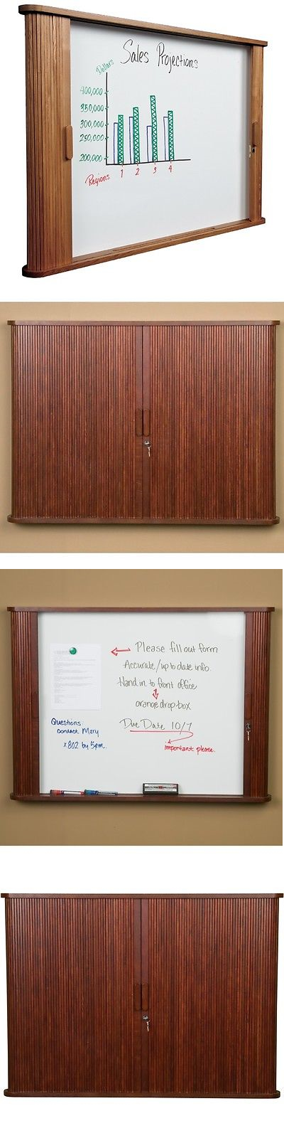 Tambour Door Whiteboard & Fits Charter Whiteboard Privacy Office ...