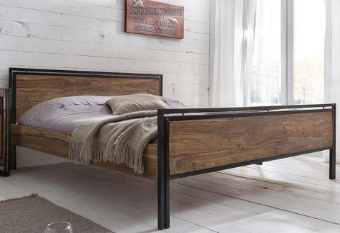 Sit Bett Panama Bett Metall Wohnen Und Massivholzbett