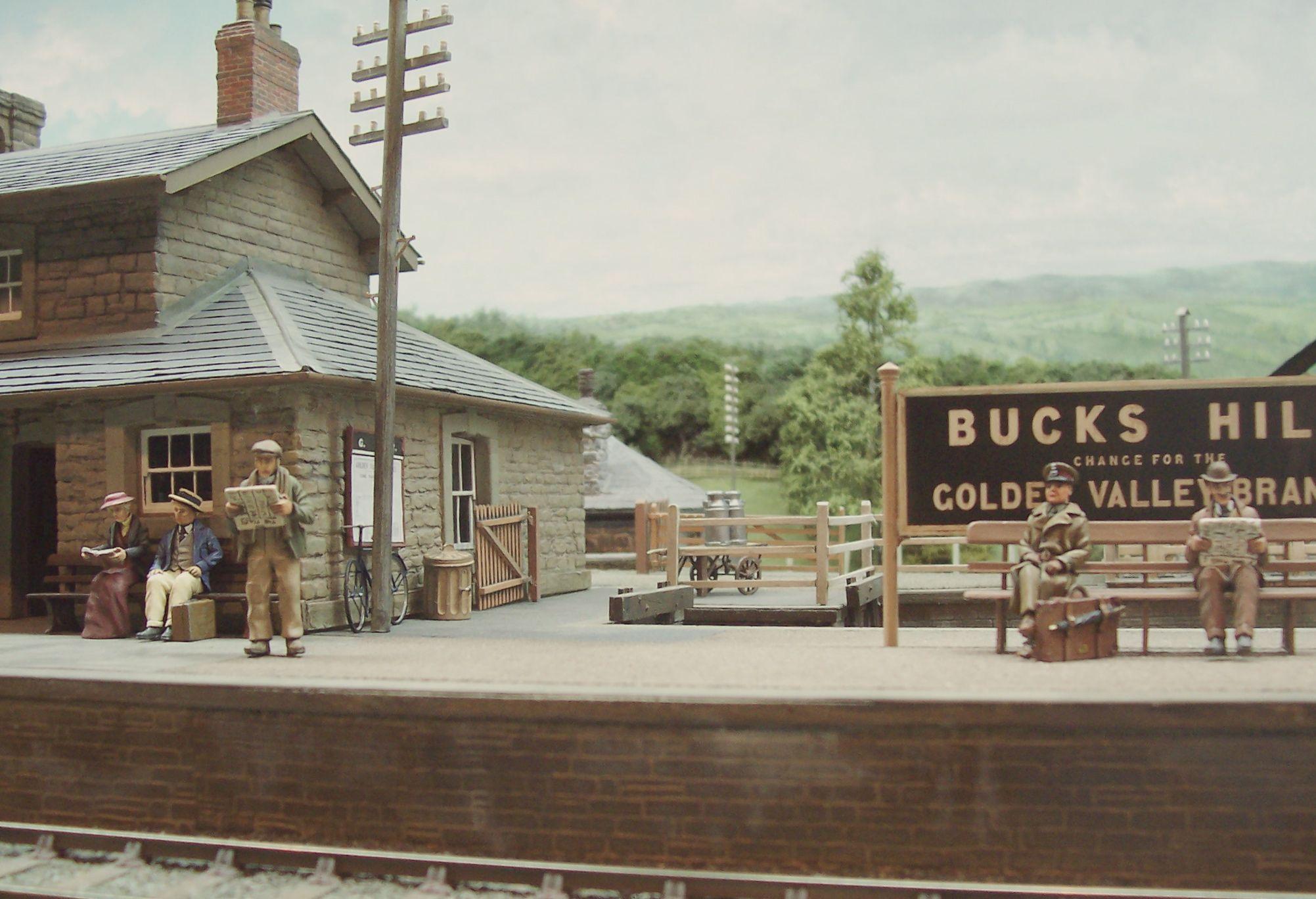 Bucks Hill Bambrick Studio Model Train Layouts Model Railway Model Trains