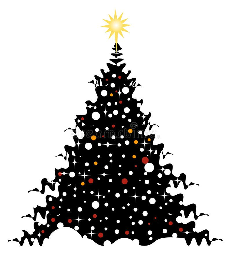 Christmas Tree On Snow Christmas Tree With Ornaments On Snow Vector Illustrat Sponsored Ad In 2020 Christmas Tree Photo Christmas Tree Christmas Tree Ornaments
