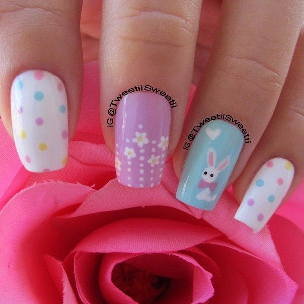 Spring Is In The Air Nail Art Ideas Pinterest Easter Nail