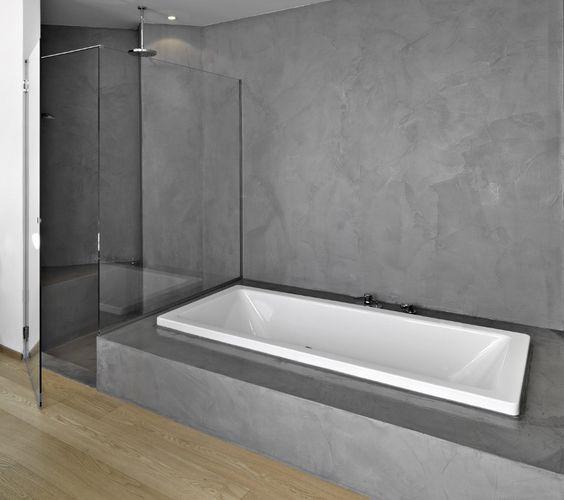 Design Beton 011 - betongrau Bodenbelag Pinterest Polierter - interieur bodenbelag aus beton haus design bilder