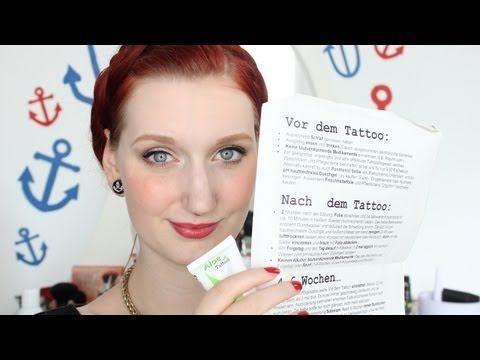 ▶ Tattoopflege Checklist - YouTube