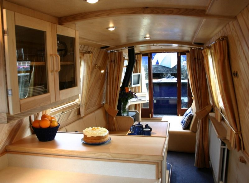 Houseboat Decor Ideas | Interior Designer | Walnut Designs | Narrowboat Interior  Design