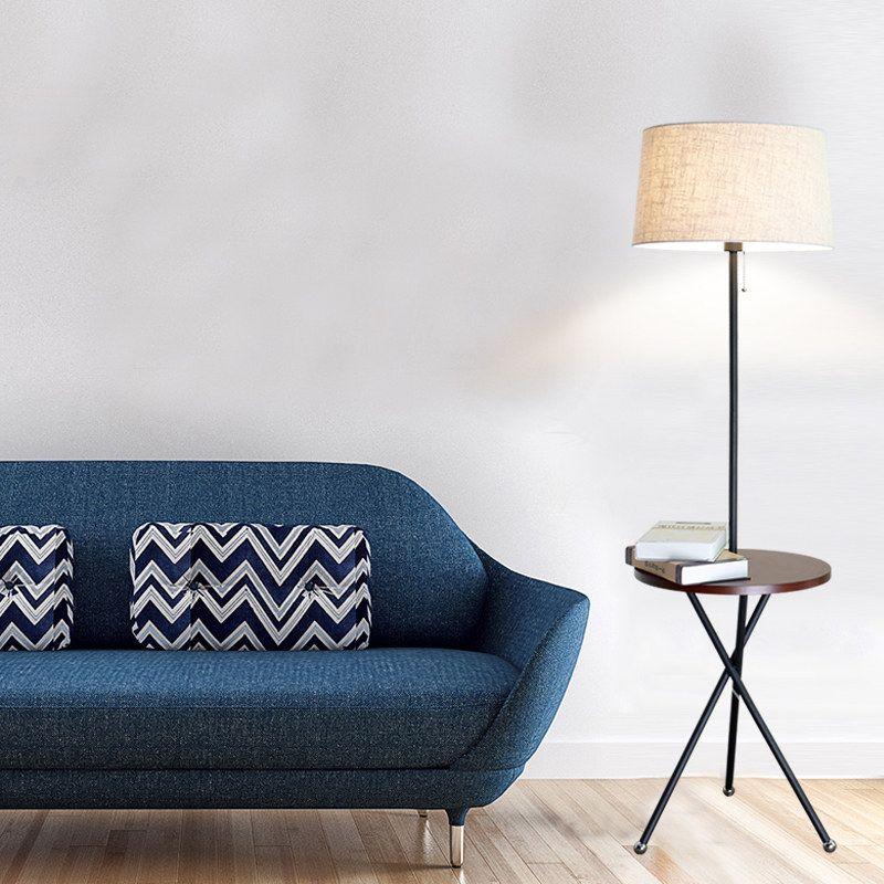 Villa Simple Modern Minimalist Floor Lamp Loft Industrial Standing Lamp  Hotel Bedroom Study Living Room Light