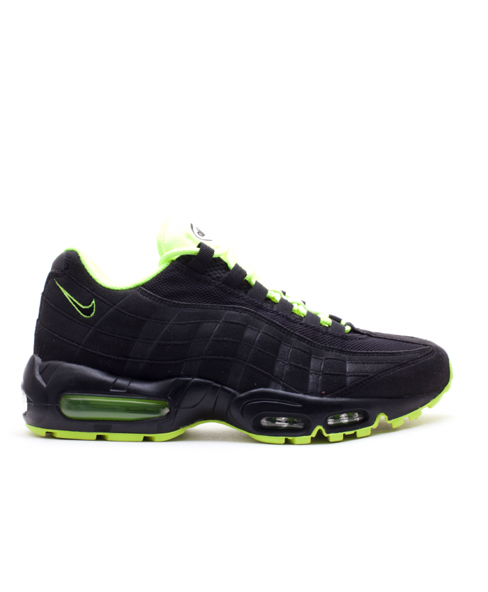 Cheap Nike Air Max 95 Black Black White Volt Trainer Deals