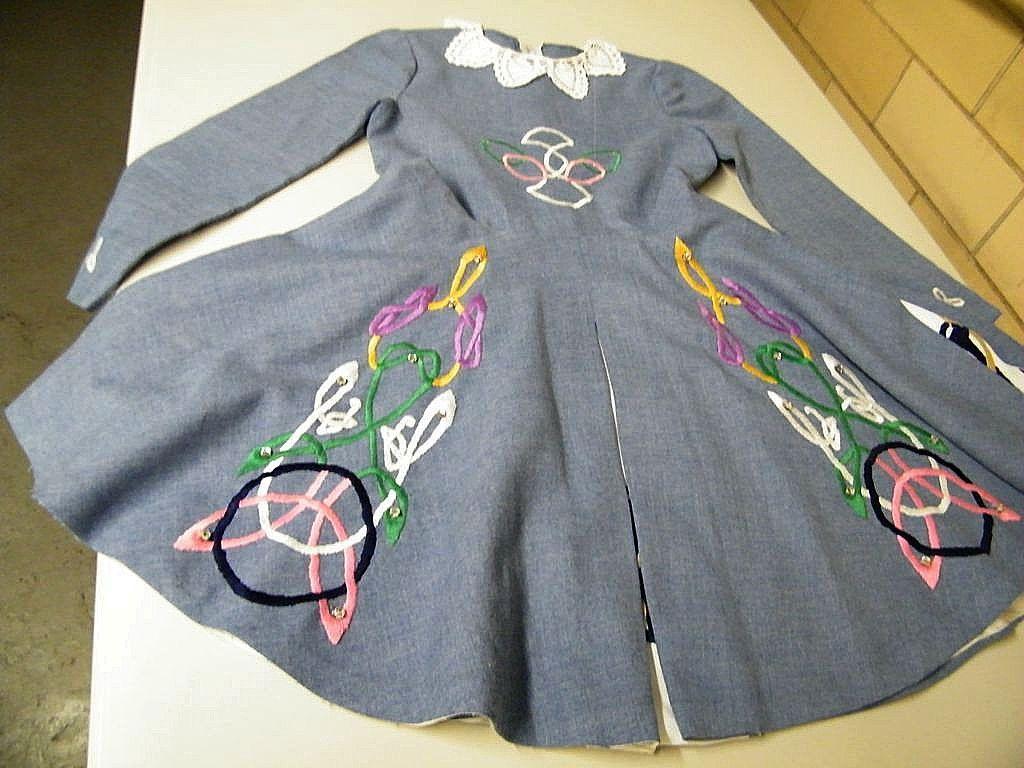 Vintage Irish Dance Dresses