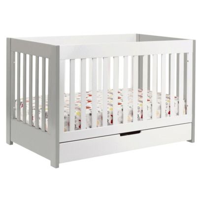 Babyletto Mercer 3 In 1 Convertible Crib With Toddler Rail