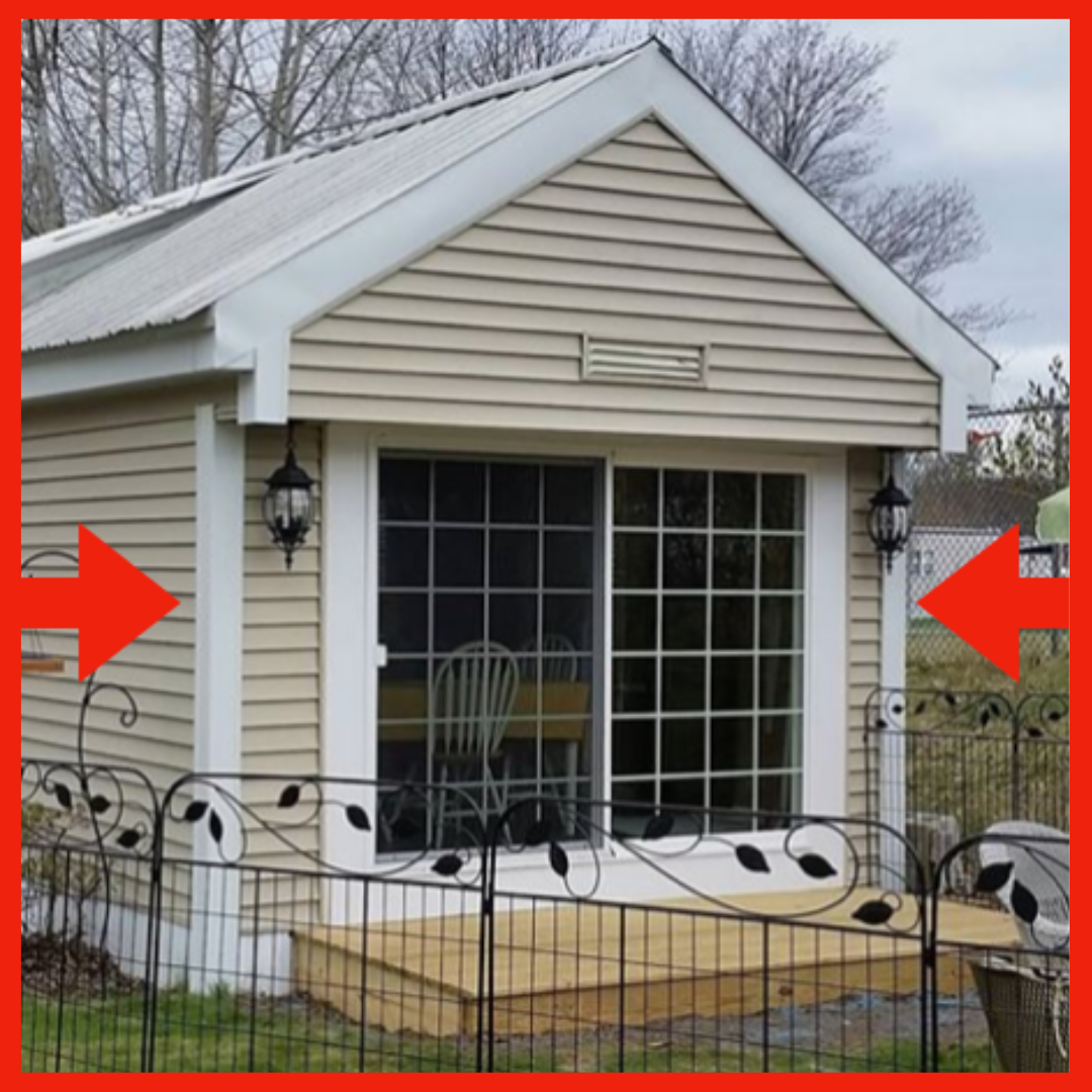 Corner Pro Clip On Vinyl Siding Corners Look Great On Mobile Homes As Well If You Have Any Kind Of Vinyl Sided Home Corner P Vinyl Siding Window Vinyl Siding
