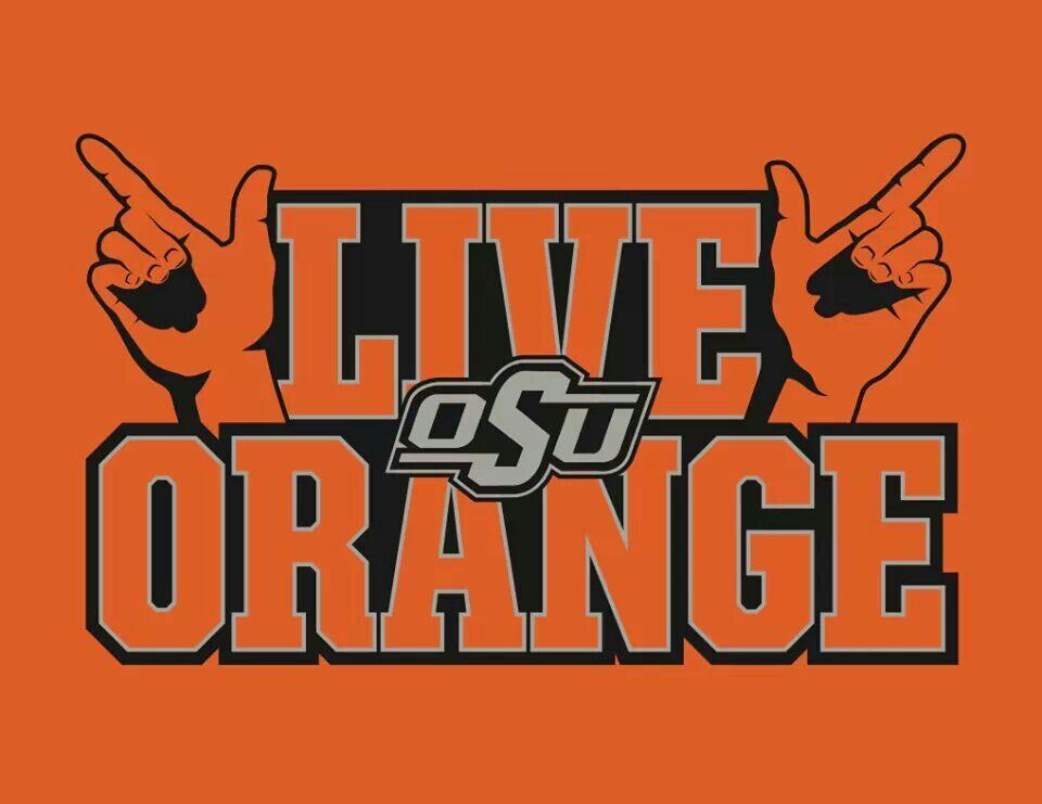Go Pokes! Oklahoma State Cowboys Pinterest
