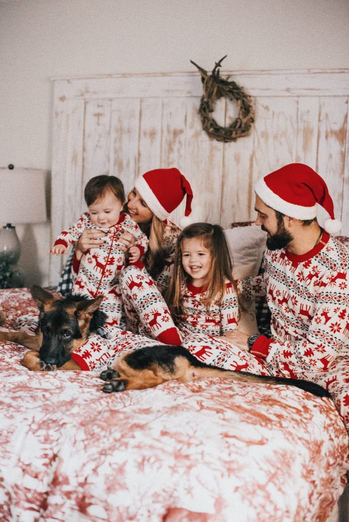 Matching Family Pajamas for the Holiday Season - Lynzy & Co.