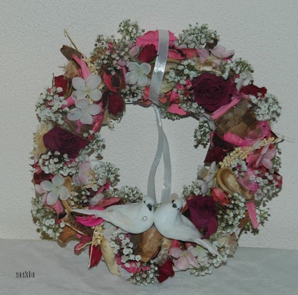 Trouw krans/ Wedding Wreath