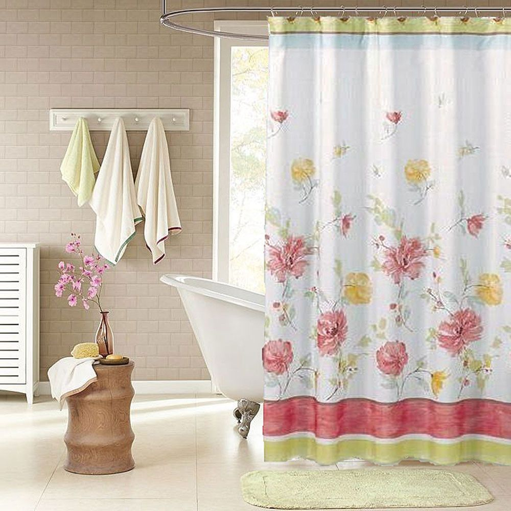 Alyssa Fabric Shower Curtain In 2019 Products Fabric Shower