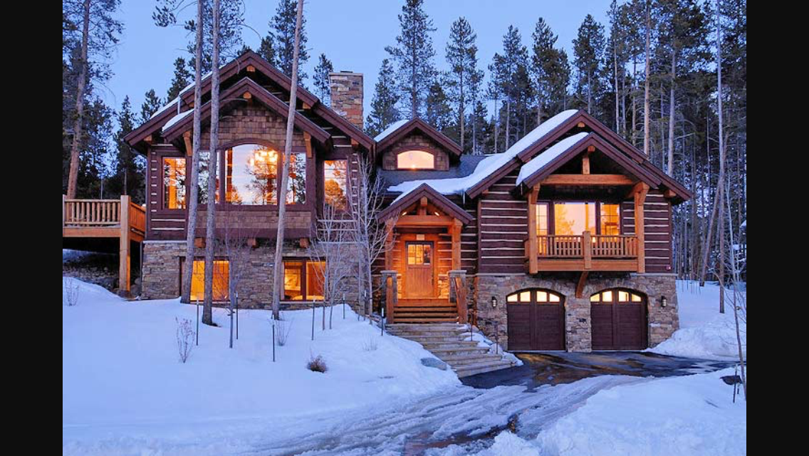 Pin By Haibara Ai On Chalets Winter House House In The Woods Breckenridge Vacation Rentals