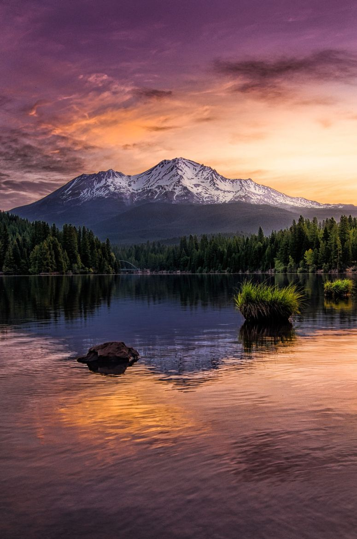 Shasta Sunrise Redux on 500px by Micah Burke, Lathrop, USA☀ nikon