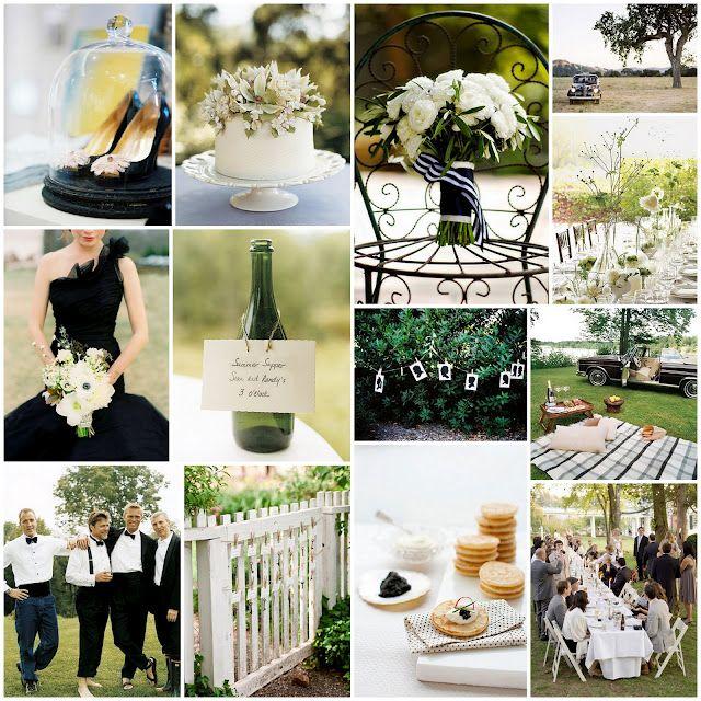 Black Tie Wedding Ideas: Black Tie, Wedding Colors