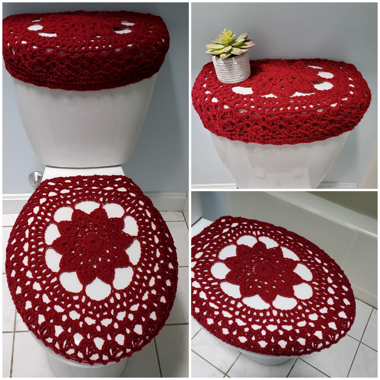 Miraculous Toilet Tank Lid Cover Toilet Seat Cover Soft Wine Ttl17N Machost Co Dining Chair Design Ideas Machostcouk