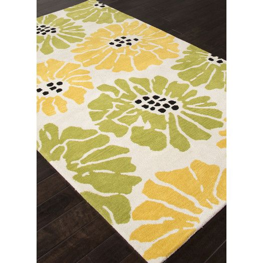 Jaipur Rugs Traverse Green Yellow Rug With Images Rugs Yellow